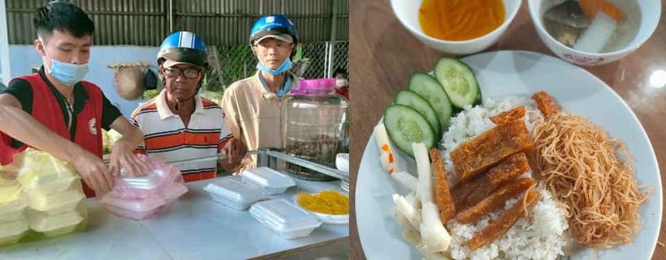 2021 Distribution de repas gratuits